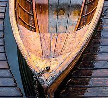 Wooden boat by Dobromir Dobrinov