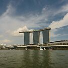 Singapore River by Werner Padarin
