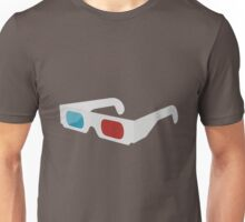 anaglyph stereographic 3D glasses Unisex T-Shirt