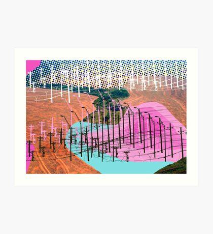 Human Landscape Art Print