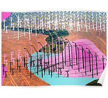 Human Landscape Poster