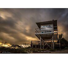 Lifeguard Tower set Photographic Print