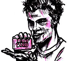 Taylor Durden Fight Club by sketchNkustom