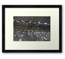 Salt Mine  Framed Print