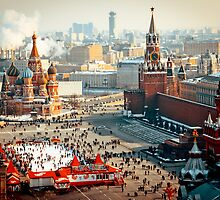 Red Square by Sergey Prekrasnyy