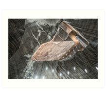 Salt Mine  Art Print