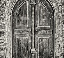 Old wooden door by Dobromir Dobrinov