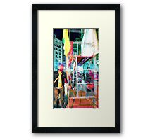 Pro(gress)test(ification), Barcelona, 2009-12-03 Framed Print
