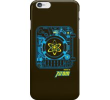 Powered by Atom_ver.03 iPhone Case/Skin