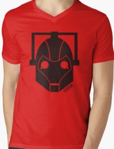 Geek Shirt #1 Cyberman Mens V-Neck T-Shirt