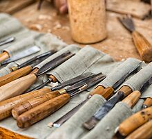 Work Tools: Chisel  by Dobromir Dobrinov