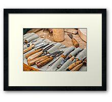 Work Tools: Chisel  Framed Print