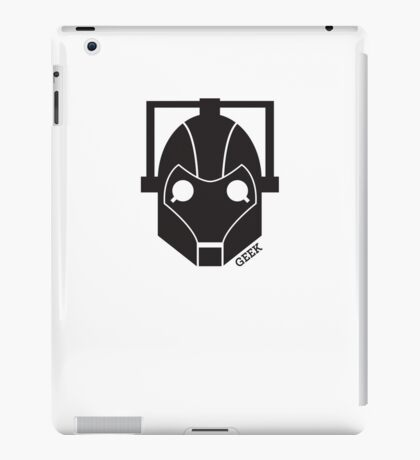 Geek Shirt #1 Cyberman iPad Case/Skin