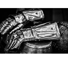 Knight gloves Photographic Print