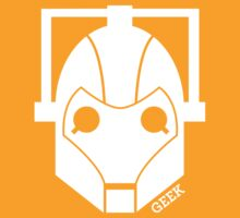 Geek Shirt #1 Cyberman (White) by RocketmanTees
