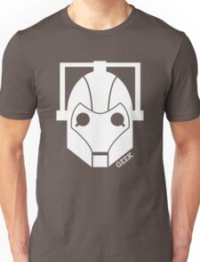 Geek Shirt #1 Cyberman (White) Unisex T-Shirt