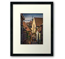 Old town Framed Print