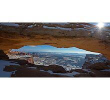 Mesa Arch Photographic Print