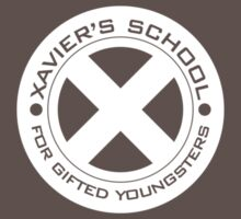 x-men xavier' s school white logo (without arrow) by Fizziponi