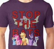 Stop the Flutterbat Unisex T-Shirt