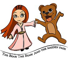 The Bear And The Maiden Fair by Astaviech