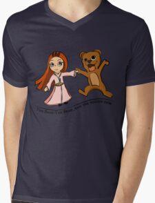 The Bear And The Maiden Fair Mens V-Neck T-Shirt