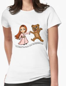 The Bear And The Maiden Fair Womens Fitted T-Shirt