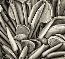 Wooden spoon by Dobromir Dobrinov