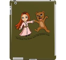The Bear And The Maiden Fair iPad Case/Skin