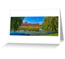 Fagaras fortress Greeting Card