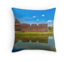 Fagaras fortress Throw Pillow