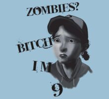 Walking Dead With Clementine T-Shirt