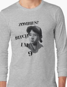 Walking Dead With Clementine Long Sleeve T-Shirt