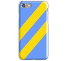 Simplicity  - Blue and yellow iPhone Case/Skin