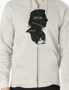"""After all this time?"" ""ALWAYS"" Zipped Hoodie"