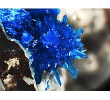 Blue Star Of India (Pentagonite) Photographic Print