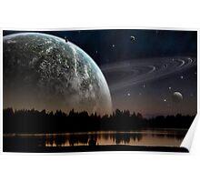 Lake of Universe Poster