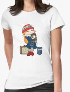 The Girl Who Waited Womens Fitted T-Shirt