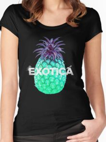 Exotica 2 Women's Fitted Scoop T-Shirt