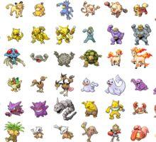 All Gen I 151 Pokemon! Sticker