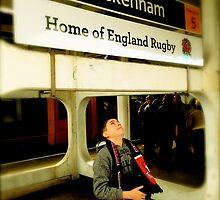Twickenham - Home of England Rugby by Robert Steadman