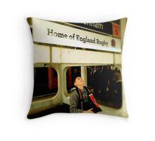Twickenham - Home of England Rugby Throw Pillow