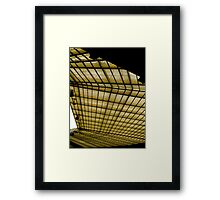 The roof, Twickenham Framed Print