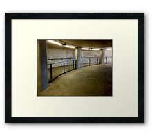 Inside Twickenham Stadium Framed Print