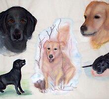 Beloved Dogs by Heidi Mooney-Hill