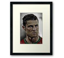 Cristiano Ronaldo Framed Print