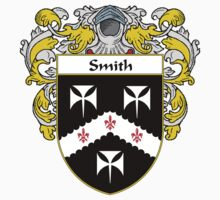 Smith Coat of Arms / Smith Family Crest by William Martin