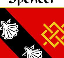 Spencer Coat of Arms / Spencer Family Crest Sticker