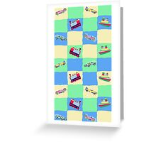 Toy Patchwork Greeting Card