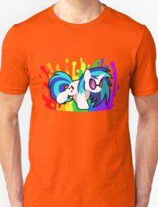 Drop the Bass (Vinyl Scratch Shirt) Unisex T-Shirt